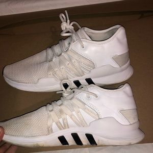 White Equip adidas shoes